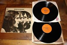 THE BYRDS ~ HISTORY OF THE BYRDS ~ UK CBS VINYL 2x DOUBLE LP 1973 ~ FIRST PRESS