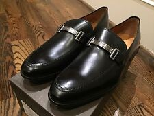 650$ Bally Leather Loafers Size US 11.5 Made in Switzerland