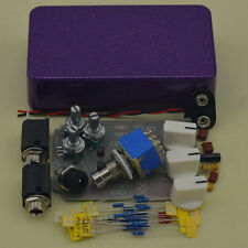 DIY Tremolo Pedal pedal Electric guitar effect pedals purple hot
