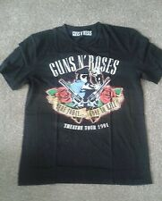 Brand New GUNS N'ROSES T Shirt Taglia Media Vintage Look Retrò effetto anticato