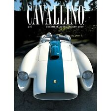 CAVALLINO, THE JOURNAL OF FERRARI HISTORY N° 216 DÉC 2016/JAN - MAGAZINE NEUF