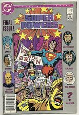 Super Powers #4 of 6 (DC Comics 1986) VG+