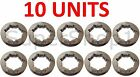 "10 Units of 3/8"" 7T Chainsaw Rim Sprocket for Husqvarna & Stihl Chainsaws"