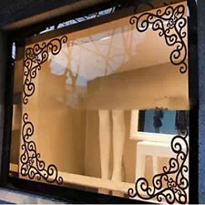 4pcs NEW Removable Mirror Wall Sticker Art Mural Decal DIY Craft Room Home Decor