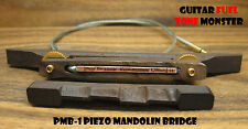TONE MONSTER PMB-1 Piezo Mandolin Bridge Rosewood Cigar Box Tenor Guitar MIK