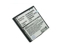 3.7V battery for MOTOROLA Milestone 2 XT720, MotoSmart, A954, XT311, Fire, XT610