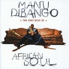 MANU DIBANGO - AFRICAN SOUL-THE VERY BEST OF  CD 15 TRACKS POP / WORLDMUSIC NEU