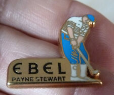 RARE PIN'S MONTRE WATCH EBELPAYNE STEWART SPORT GOLF ARTHUS BERTRAND