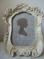 "Cream Aged Effect French Vintage Style 'shabby chic' Photo Frame 5"" x 7"""