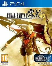 Final Fantasy Type-0 HD (Sony PlayStation 4)