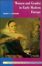 Women and Gender in Early Modern Europe (New Approaches to European Hi-ExLibrary