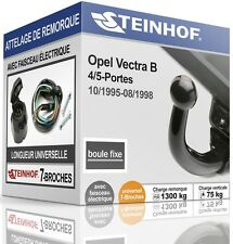 ATTELAGE fixe OPEL VECTRA B 4/5-Portes 1995-1998 + FAISC.UNIV.7-broches COMPLET