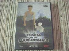 DVD ANIME MANGA LA TUMBA DE LAS LUCIERNAGAS DE ISAO TAKAHATA NUEVO Y PRECINTADO