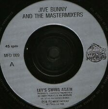 "JIVE BUNNY let's swing again 7"" WS EX/ uk MFD 009"