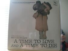 "A TIME TO LOVE & A TIME TO - ORIGINAL SOUND TRACK - VARESE STV 81075 - ""SEALED"""