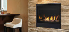 "Majestic Quartz 32"" Direct Vent Gas Fireplace QUARTZ32  W/ Free Brick Panels"