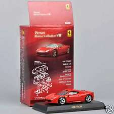 1/64 Scale Ferrari Minicar Collection Ⅷ 458 ITALIA Red Diecast Car Kyosho Toy