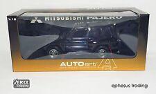 AUTOart AUTO Mitsubishi Pajero EVO Shogun 3.5l V6 Black Gray RHD 77131 1/18 MINT