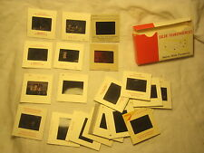 28 slide mix lot Kodak Color slides photograph photographic color transparency