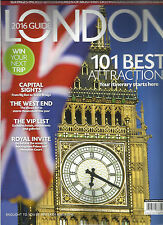 LONDON, 2016 GUIDE MAGAZINE,  ( 101 BEST ATTRACTIONS YOR ITINERARY STARTS HERE.)