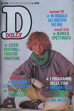 DOLLY 384 1986 Bronski Beat Communards Greta Scacchi Mr Mister Feargal Sharkey