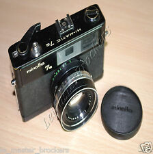 Minolta hi-matic 7 s  - Ancien appareil photo vintage 1966