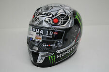 Original HJC R-PHA 10 Plus SPEED MACHINE MC5 Motorradhelm Helmet Helm Gr. M