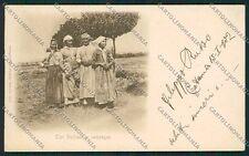 Palermo Costumi Siciliani cartolina QQ0805