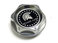 MOLON LABE SPARTAN GUNMETAL RACING ENGINE OIL FILLER CAP FOR NISSAN INFINITI