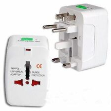 Universal World Plug All-in-one Travel AC Power Adapter Converter to US/UK/AU/EU