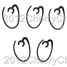 5pcs Ear Loop Hook Earhook Earloop For Samsung HM1800 HM1900 Wep700 WEP500 Black