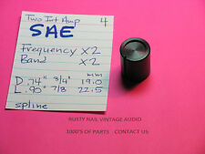 SAE TWO INTEGRATED  AMPLIFIER  FREQUENCY AND BAND ADJUSTMENT KNOBS