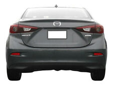 #538 PRIMERED Factory Style Lip SPOILER fits the 2014 2015 2016 MAZDA 3