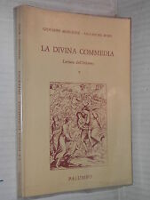 LA DIVINA COMMEDIA Vol 1 Inferno Giovanni Marchese Salvatore Rossi Palumbo 1992