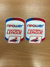 NPOWER FOOTBALL LEAGUE adulto Camicia patch x 1 Paio