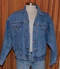 Warner Bros Looney Tunes Las Vegas Taz Devil Blue Denim Jean Jacket Mens Medium