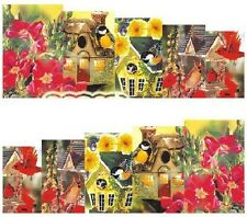 Nail Art Decals Transfers Stickers Enchanted Cottage (DA1015)