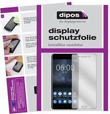 2x Nokia 6 Protector de Pantalla protectores transparente dipos