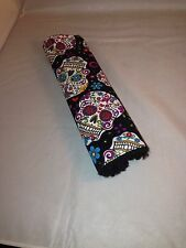 Sugar Skull Dia de los Muertos Day of the Dead Seatbelt Cover
