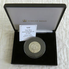 2014 TDC 70th ANNIVERSARY OF D-DAY PIEDFORT £5 SILVER PROOF - mintage 95
