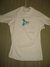 #6549 XCEL SS RASH GUARD SURF TOP KIDS YOUTH SIZE 4 EXC. USED