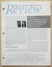Wage and Hour Audit California Labor & Employment Law Review July 2013