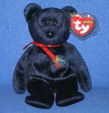 TY SPARKS the BEAR BEANIE BABY - UK EXCLUSIVE - MINT with MINT TAGS