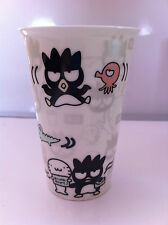 Hello Kitty Badtermaru Genuine-Travel Thermal Porcelain Cup and Silicon Lid-Rare