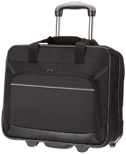 Rolling Laptop Case 17In Inch Computer Business Bag Wheeled Travel Carry On