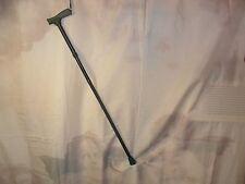 Metal Adjustable Folding Walking Cane/Stick ~ Black ~ Pre-owned