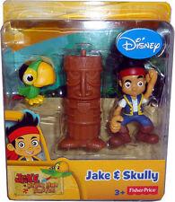 Jake & Skully PIRATA Nuovo New By Disney FISCHER PRICE Age 3+ isola dei Pirati