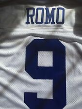 New Dallas Cowboys Authentic Tony Romo Jersey in White.  Size 50