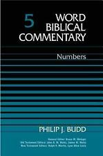 Word Biblical Commentary Vol. 5, Numbers  (budd), 446pp