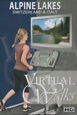 ALPINE LAKES SWITZERLAND & ITALY VIRTUAL WALK WALKING WORKOUT DVD AMBIENT COLL.